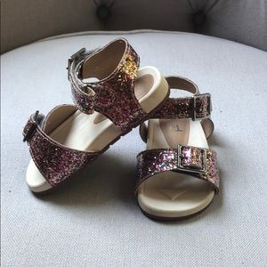 Other - Multi-colored sparkly sandal